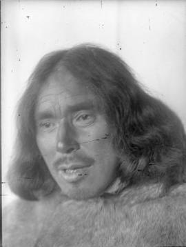Portrait of Unidentified Inuit Man.