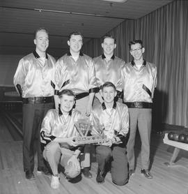 Recreation and sport - UBC men's bowling team