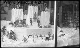 Banff Winter Carnival window display