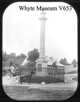 Monument where Wolfe fell near Quebec, Canada / Wm. S. Vaux Jr.