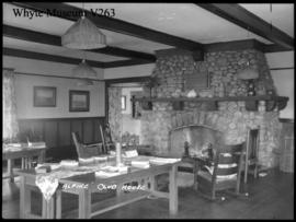 Alpine club house, Banff, interior