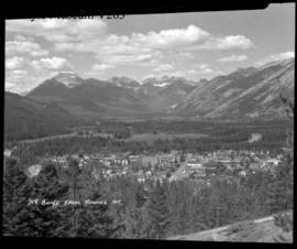 Banff from Tunnel Mtn.