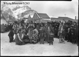 Indian Pow Wow on Banff Avenue