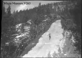 Banff Winter Carnival, ski jump