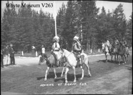 523. Indians at Banff