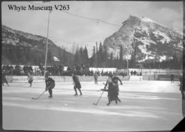 Banff Winter Carnival, ladies hockey