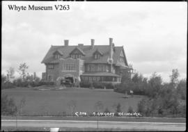 304. A Calgary residence. The Coste House, Mount Royal