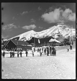 Intercollegiate Ski Meet, Banff, Alberta.