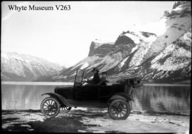 30. Old car at Minnewanka