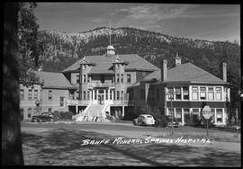 Banff Mineral Springs Hospital.