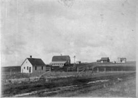 [Barnes farm at Springbank, Alberta(?)]