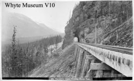 579. Tunnel in Upper Kicking Horse Pass