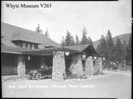 708. Main entrance, Jasper Park Lodge