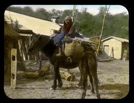[Woman on horse]