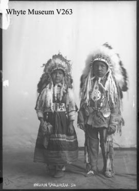511. Indian children : [Stoney Indians]