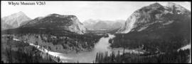Untitled : [Bow Valley from Banff Springs Hotel]
