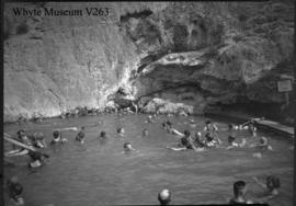Cave & Basin, old hot pool