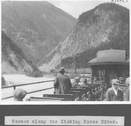 Scene along the Kicking Horse River / 27789