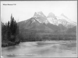 Three Sisters, Canmore, N.W.T.