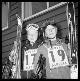 Ski Competitions. Old.