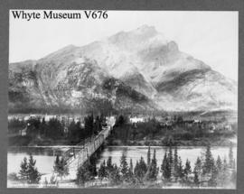 Cascade Mountain and Bridge, Banff