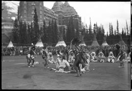 Indian Days - Dancing, Banff, Alberta.