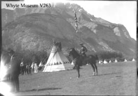 Banff Indian Days, Mountie