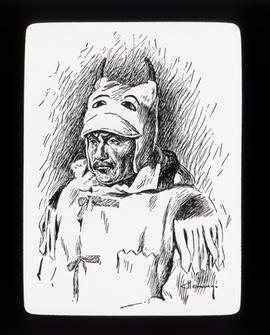 [Fur trade illustration - First Nations shaman]