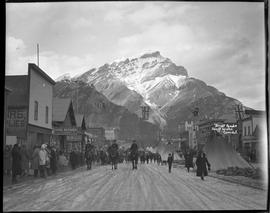 """Street Parade"" Banff Winter Carnival"