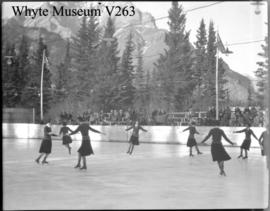 Banff Winter Carnival, fancy skating