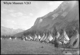 500. Stoney Indian camp