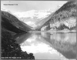 Lake Louise, near Laggan, C.P.R.