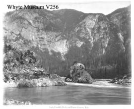 Lady Franklin Rock and Fraser Canyon, Yale