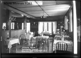 Dining room, Lodge, Gateway, Kootenay National Park