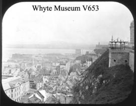 Old Quebec from Duffan Terrace, 1895 / Wm. S. Vaux