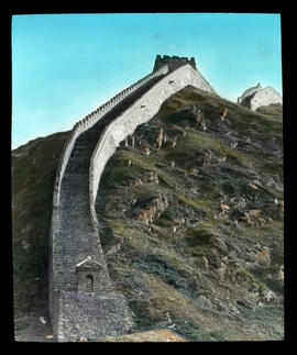 The Great Wall of China at Nankow Pass.
