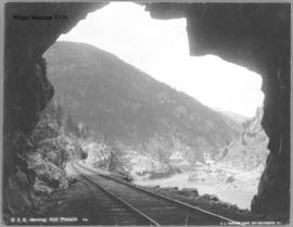 C.P.R. showing four Tunnels