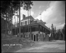 Alpine club house, Banff, exterior