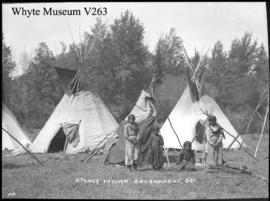 501. Stoney Indian camp