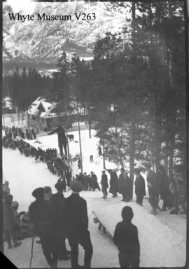 Banff Winter Carnival, ski jumping