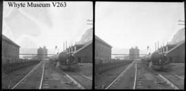 Train station, stereo : [coal train at Bankhead]