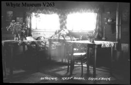 E-15. Rest house, Saddleback (ACC?) interior