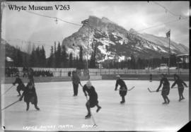Banff Winter Carnival, ladies' hockey match