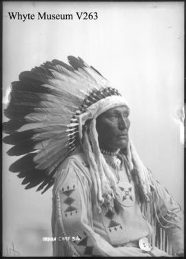 Indian chief, William Powderface
