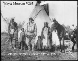503. Western Canadian Indian family