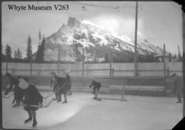 Banff Winter Carnival, Ladies hockey match