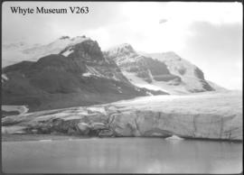 Ice lake near Athabasca Glacier (Icefield trip?)