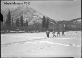 Banff Winter Carnival, snowshoe race