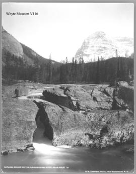 Natural Bridge on the Kicking Horse River, near Field