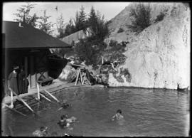Cave and Basin bathhouse and pool